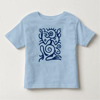 Símbolo de Birdman del maya Playera De Bebé