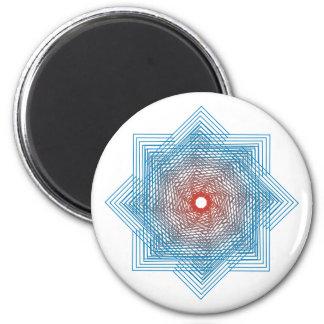 Símbolo de cuadriláteros de squares imán