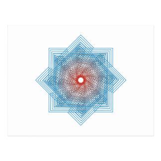 Símbolo de cuadriláteros de squares postales