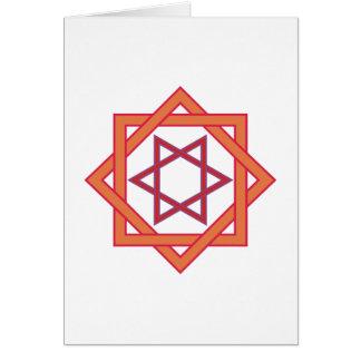 Símbolo de cuadriláteros de triángulos squares de tarjeton