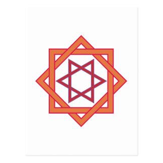 Símbolo de cuadriláteros de triángulos squares de postales