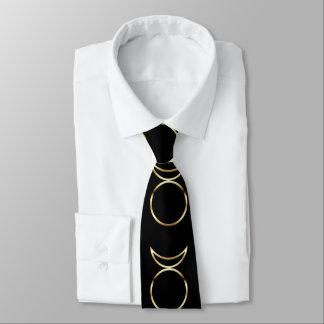 Símbolo de cuernos pagano de dios de Falln Corbata Personalizada
