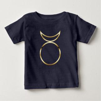 Símbolo de cuernos pagano de dios de Falln Playera De Bebé
