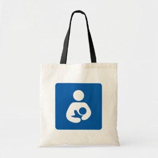 Símbolo de cuidado de amamantamiento bolsa