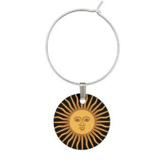 Símbolo de dios del sol identificador de copa