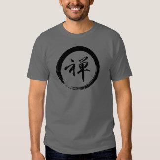 Símbolo de Enso con símbolo del zen Remeras
