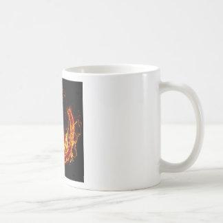Símbolo de fuego ateo taza clásica