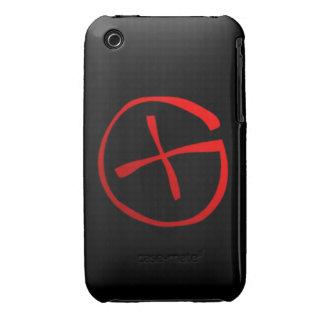 Símbolo de Geocaching iPhone 3 Case-Mate Coberturas