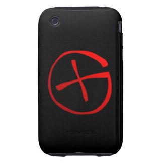 Símbolo de Geocaching Tough iPhone 3 Protector