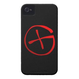 Símbolo de Geocaching iPhone 4 Case-Mate Cárcasas