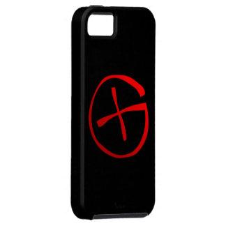 Símbolo de Geocaching iPhone 5 Carcasas