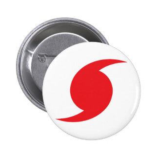 Símbolo de Hunnicane Pin Redondo De 2 Pulgadas