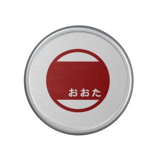 Símbolo de Japón de la prefectura de Gunma de la Altavoz Con Bluetooth