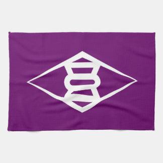 Símbolo de Japón de la prefectura de Gunma de la Toalla De Cocina