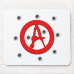Símbolo de la anarquía alfombrilla de ratón