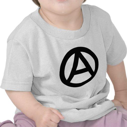 Símbolo de la anarquía camiseta