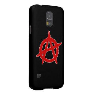 Símbolo de la anarquía funda de galaxy s5