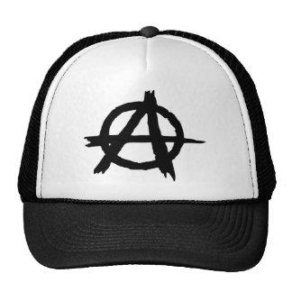Símbolo de la anarquía gorras