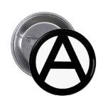 Símbolo de la anarquía pins