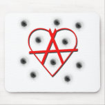 Símbolo de la anarquía tapete de ratón