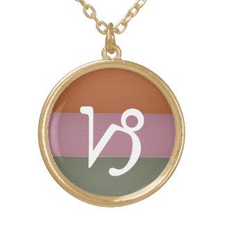 Símbolo de la astrología del zodiaco: Encanto de B Collares