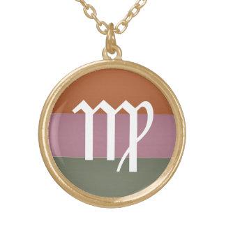 Símbolo de la astrología del zodiaco: Encanto de B Collar