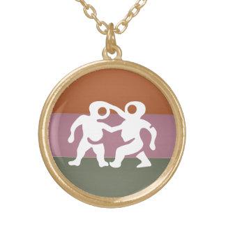 Símbolo de la astrología del zodiaco: Encanto de B Collar Personalizado