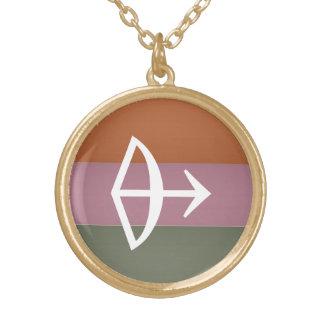Símbolo de la astrología del zodiaco: Encanto de B Pendiente