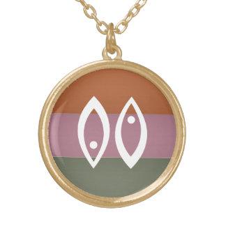 Símbolo de la astrología del zodiaco: Encanto de B Collares Personalizados