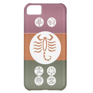 Símbolo de la astrología del zodiaco: Encanto de B Funda Para iPhone 5C
