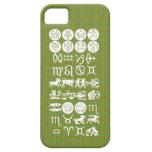 Símbolo de la astrología del zodiaco: Encanto de iPhone 5 Cárcasas