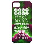 Símbolo de la astrología del zodiaco: Encanto de iPhone 5 Case-Mate Protector