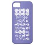 Símbolo de la astrología del zodiaco: Encanto de iPhone 5 Case-Mate Carcasas