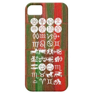 Símbolo de la astrología del zodiaco: Encanto de Funda Para iPhone 5 Barely There