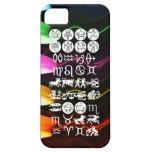 Símbolo de la astrología del zodiaco: Encanto de iPhone 5 Case-Mate Cárcasa
