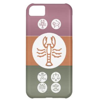 Símbolo de la astrología del zodiaco: Encanto de Funda Para iPhone 5C