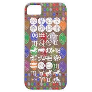Símbolo de la astrología del zodiaco: Encanto de iPhone 5 Carcasas