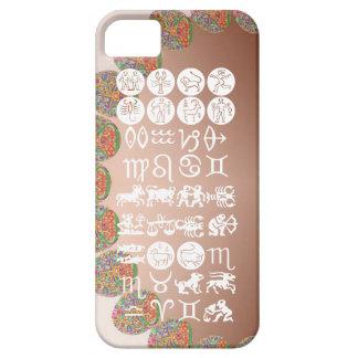 Símbolo de la astrología del zodiaco: Encanto de iPhone 5 Funda
