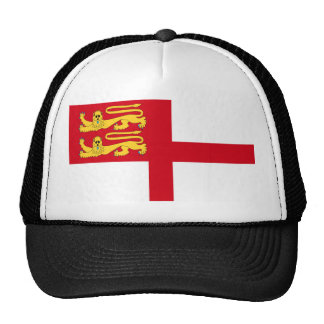 Símbolo de la bandera de la isla del sark de la gorro