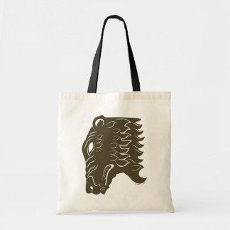 Símbolo de la cabeza del oso de BEORN™ Bolsas De Mano