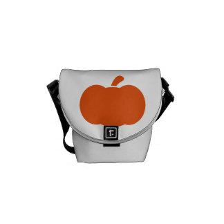 Símbolo de la calabaza bolsas de mensajeria