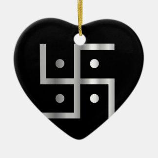 Símbolo de la cruz gamada del Hinduism Adorno Para Reyes