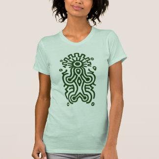 Símbolo de la diosa del maya camisas