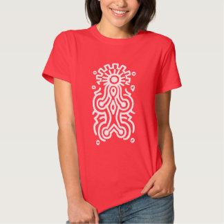 Símbolo de la diosa del maya remera