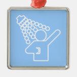 Símbolo de la ducha adorno de reyes