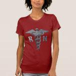 Símbolo de la enfermera registradoa camisetas