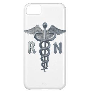 Símbolo de la enfermera registradoa funda para iPhone 5C