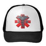 Símbolo de la enfermera registradoa gorras de camionero