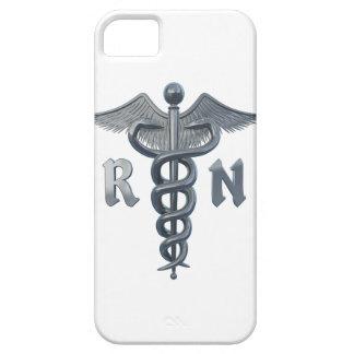 Símbolo de la enfermera registradoa iPhone 5 fundas