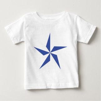 símbolo de la estrella azul t shirts